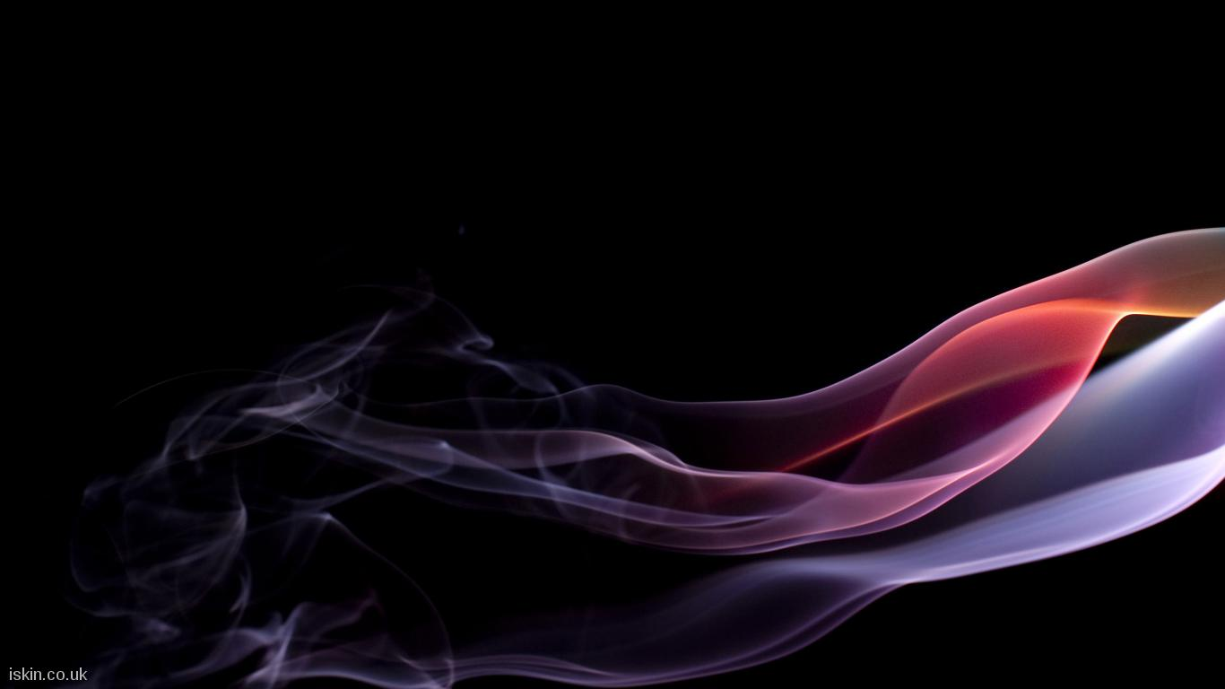 desktop image brightly colored smoke