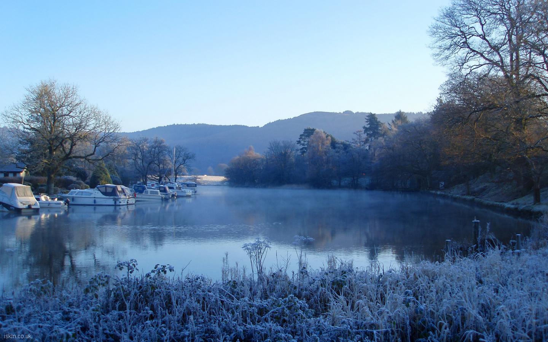 frosty morning wallpaper - photo #10