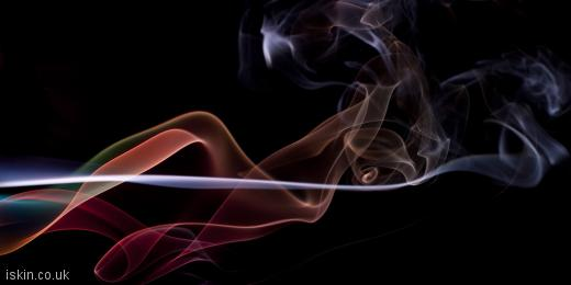 twitter header twisting smoke background