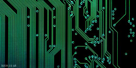 twitter header electronic circuits