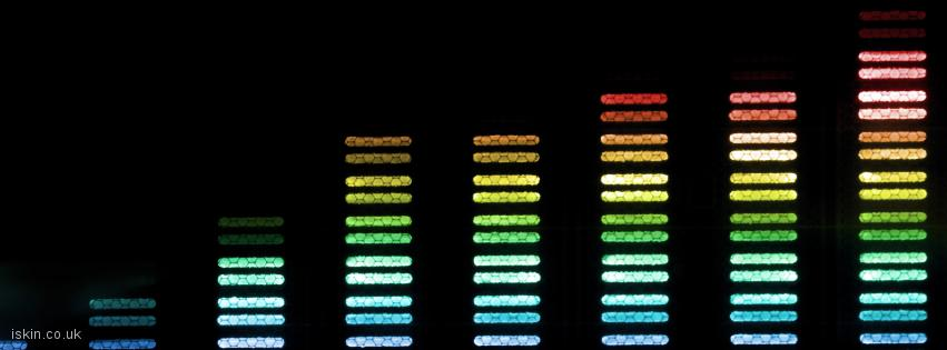 facebook header Audio Spectrum