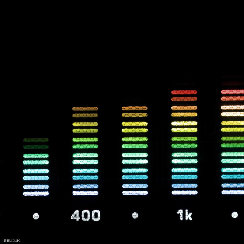 ipad wallpaper Audio Spectrum