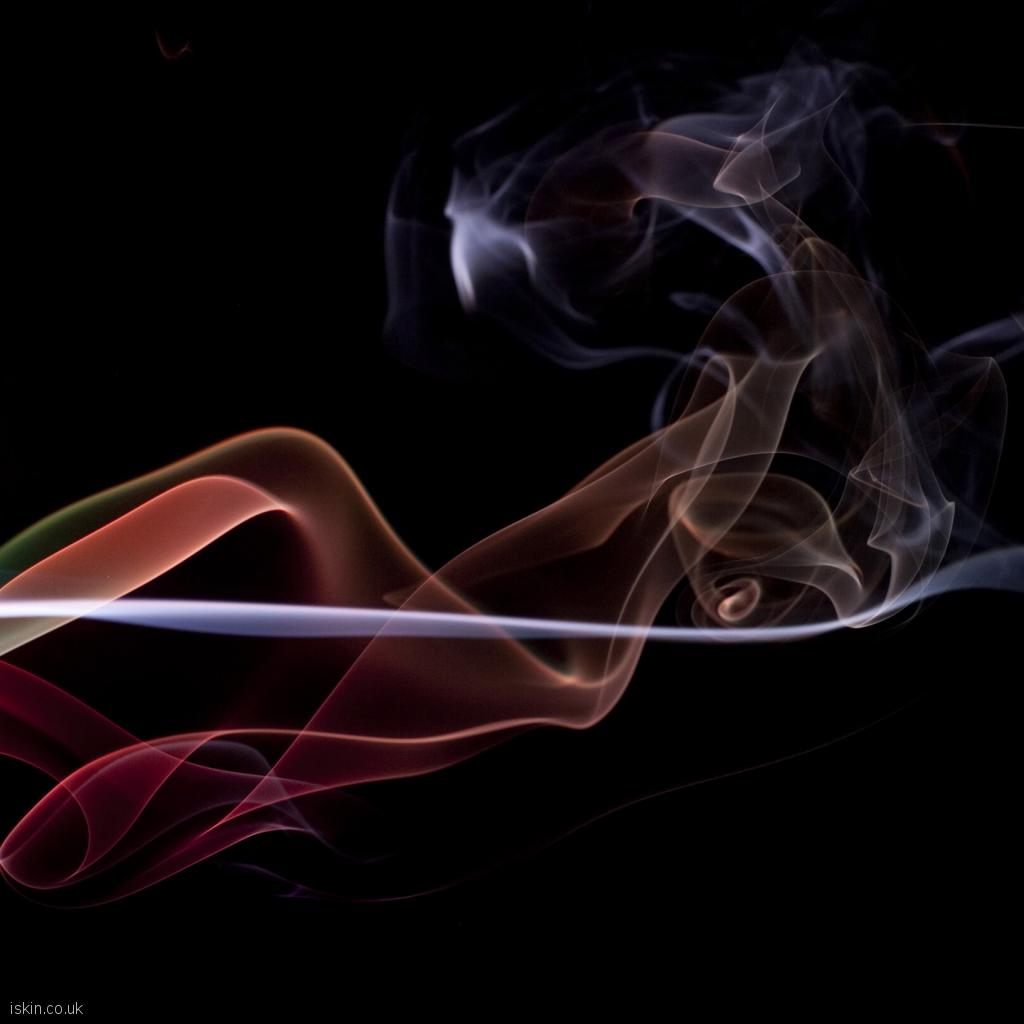 ipad wallpaper twisting smoke background