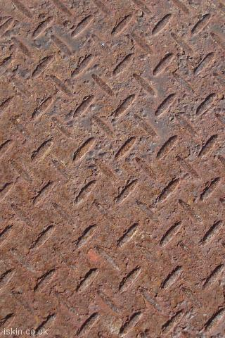 iphone portrait wallpaper Rusty Industrial