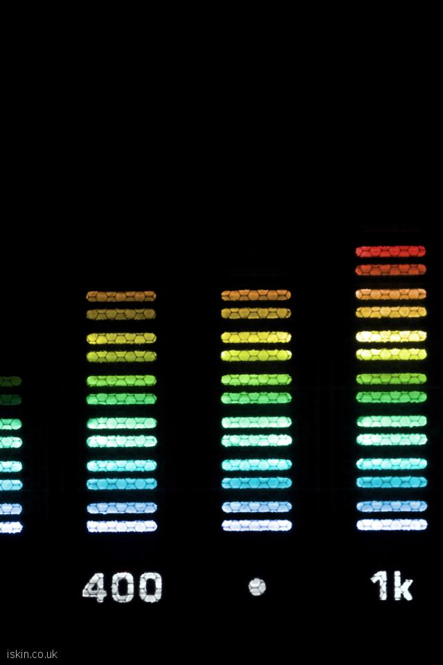 iphone 4 portrait wallpaper Audio Spectrum