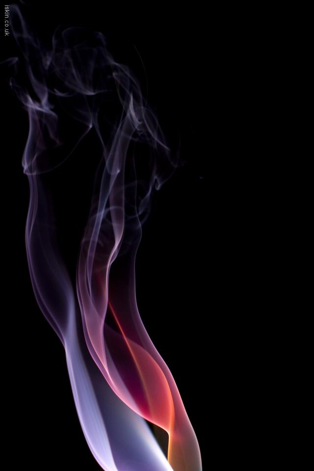 iphone 4 landscape wallpaper brightly colored smoke