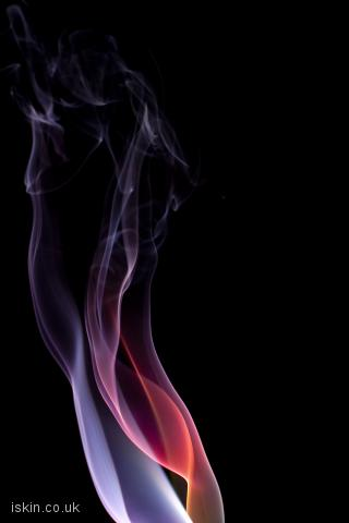 iphone landscape wallpaper brightly colored smoke